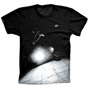Camiseta Black Bike delantera