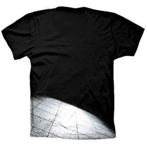 Camiseta Black Bike trasera