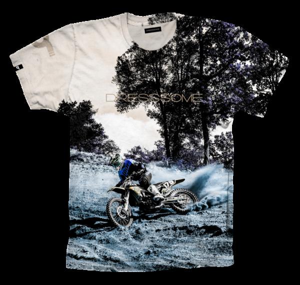 Camiseta Full print . ReverseCross delantera