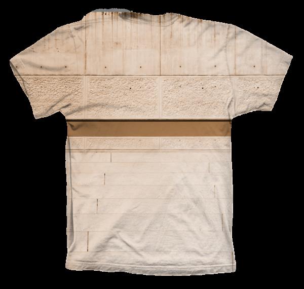 Camiseta Cubo Back - trasera