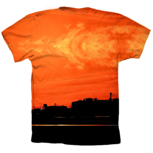 Camiseta Skate Orange trasera