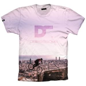 Camiseta trial bunkers - DRESSSOME