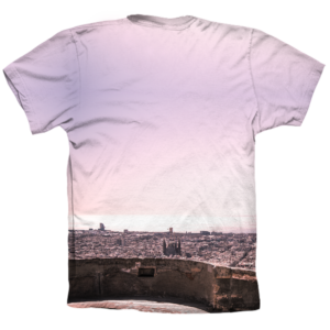 Camiseta trial bunkers purple