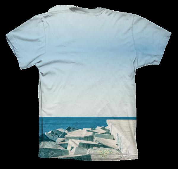 Camiseta sublimada Rock Jump - Trasera