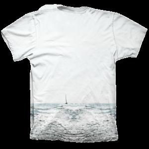 Camiseta wake boat - full print - trasera