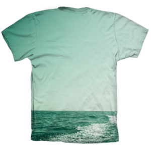 Camiseta Wake Green DS trasera