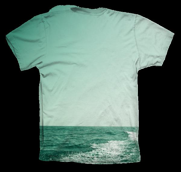 Camiseta Wake Green DS trasera