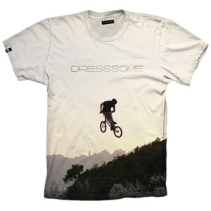 Camiseta Full print - Dirt Jump