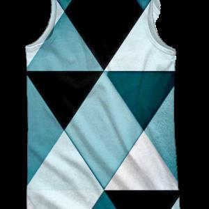 camiseta tirantes Rhombus Back - trasera