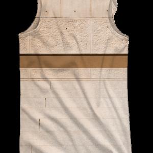Camiseta tirantes - Cubo Back - trasera