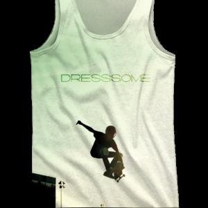 Camiseta de tirantes Skate Green - Delantera
