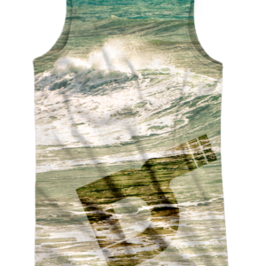 Camiseta de tirantes surfing trasera
