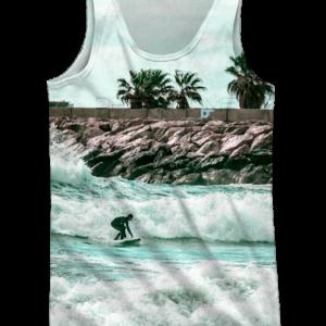 Camiseta de tirantes - Tropical Surf - delante