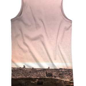 Camiseta de tirantes Bunkers Orange - trasera