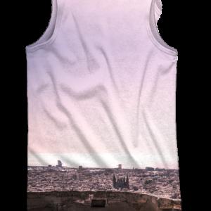 Camiseta tirantes Trial Bunkers Purple - DRESSSOME - trasera