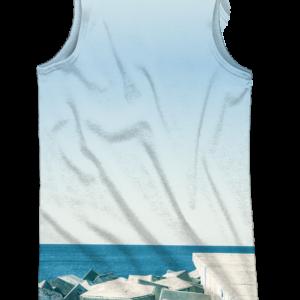 camiseta de tirantes Racok Jump - full print - trasera
