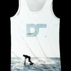 Camiseta de tirantes hombre - Wake Boat - delantera