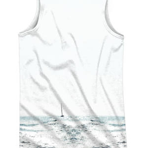 camiseta de tirantes - wake boat - trasera