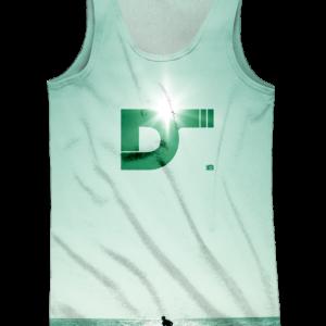 Camiseta Tirantes Wake Green DS - Delantera