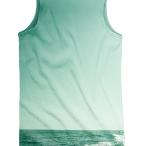 Camiseta Tirante Wake Green - Ds- FULL PRINT
