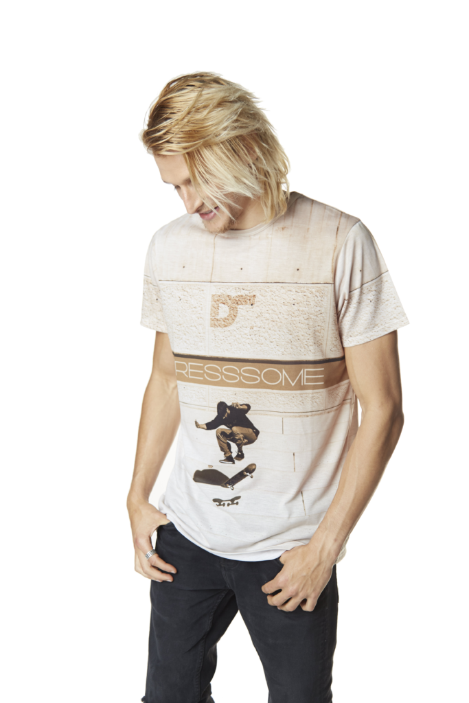 camiseta sublimada steeps