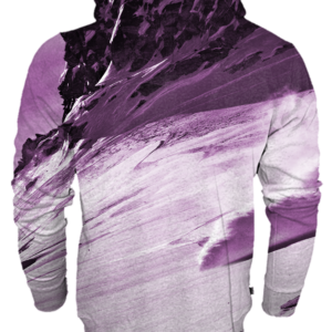 Sudadera purple pink - trasera