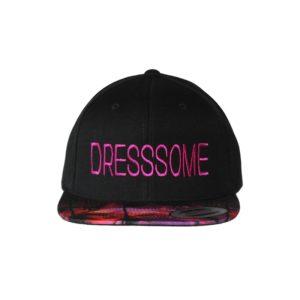 gorra-snapback-2tones-pink-dresssome-front