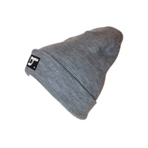 Gorro con dobladillo - GREY - lateral