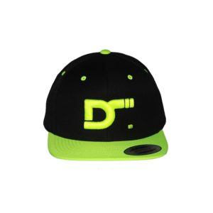 snapback-classic-2tones-blacklima-ds-front