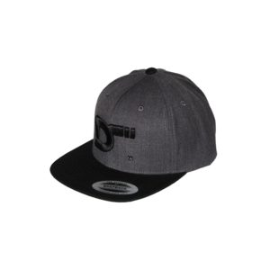 gorra-snapback-classic-2tones-charcoalblack-ds-lateral
