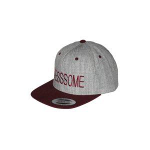 gorra-snapback-classic-2tones-greymaroon-dresssome-lateral