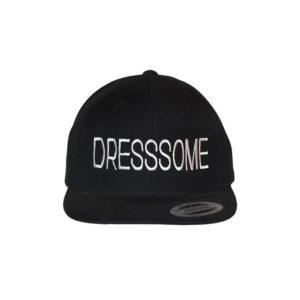 gorra-snapback-classic-black-dresssome-front