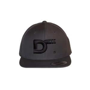 gorra-snapback-classic-charcoal-ds-front