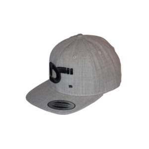 gorra snapback heather - lateral