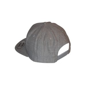 Gorra Snapback heather - trasera