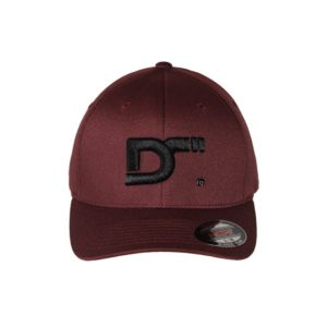 gorra-flexfit-wooly-combed-marron-frontal