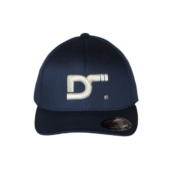 Gorra-flexfit-wooly-combed-navy-ds front