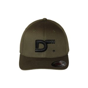 Gorra-flexfit-wooly-combed-olive-ds-front